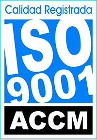 Logo ISO 9001 ACCM